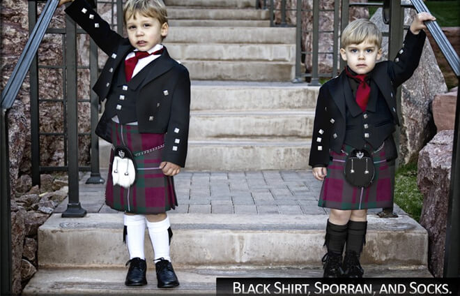 Kids Kilt Package