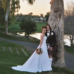 Wheaton's wedding photo 2004